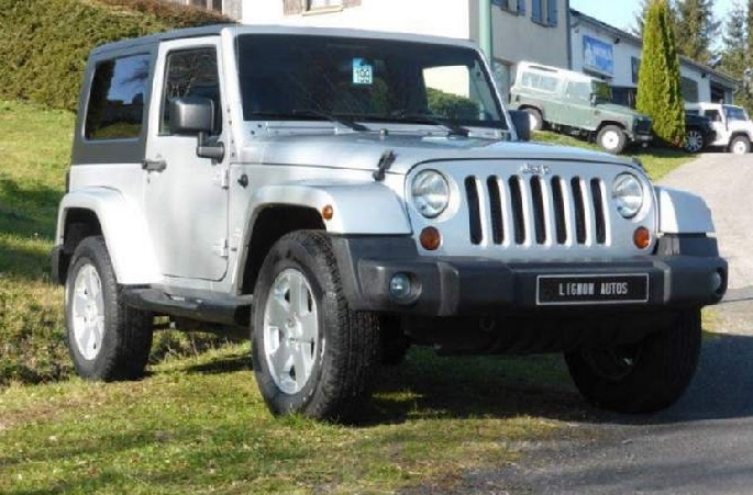 Jeep wrangler sahara 3p 2.8l crd